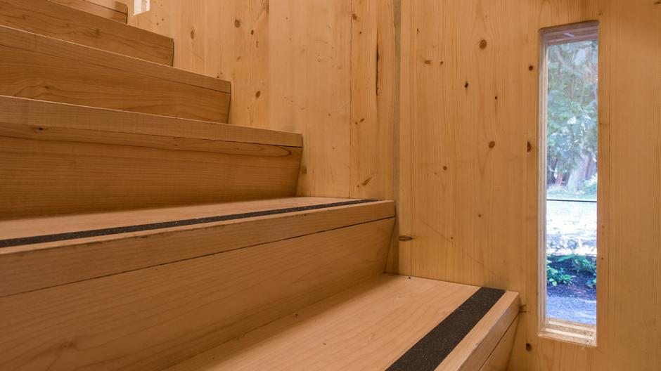 Building stairs that are made of wood