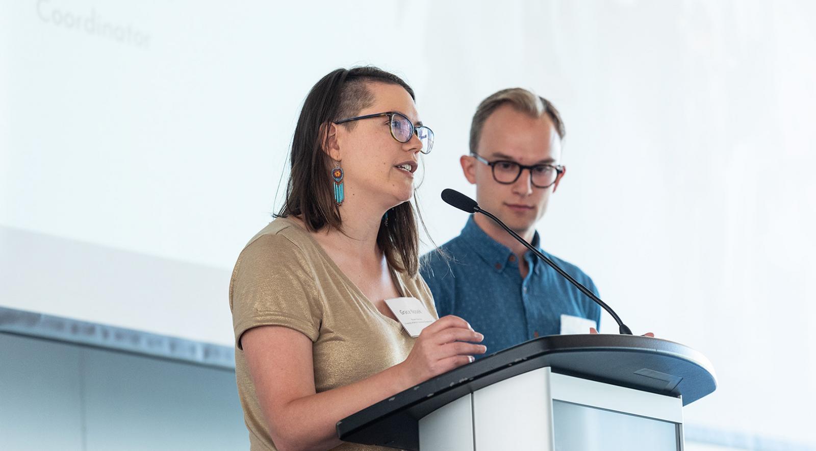 Climate Hub speakers